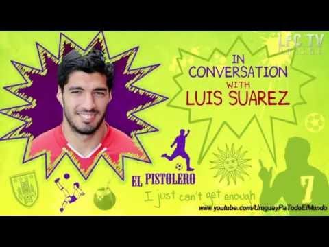 Luis Suarez entrevistado por un niño Ingles (Subtitulado)