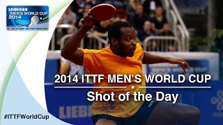 The underdog Aruna Quadri from Nigeria surprised everyone at the LIEBHERR 2014 Men&#39;s <b>World Cup</b> and made it into the...</div><div class=