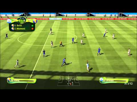 2014 FIFA World Cup Brazil - Argentina vs Bosnia and Herzegovina Gameplay [HD]
