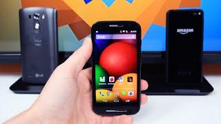 Moto E Vs LG G3 & Fire Phone! [Performance Test]