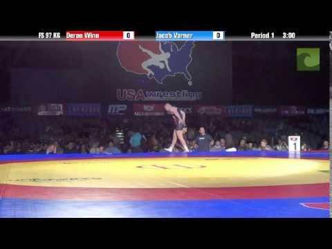 97 KG SF - Deron Winn (TMWC) vs. Jake Varner (NLWC)