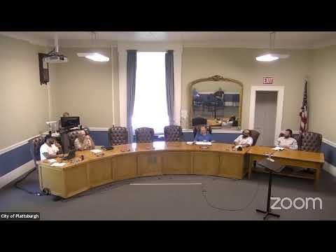 Plattsburgh Infrastructure Committee Meeting  8-2-21