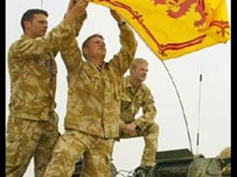 Royal Scots Dragoon Guards Music.