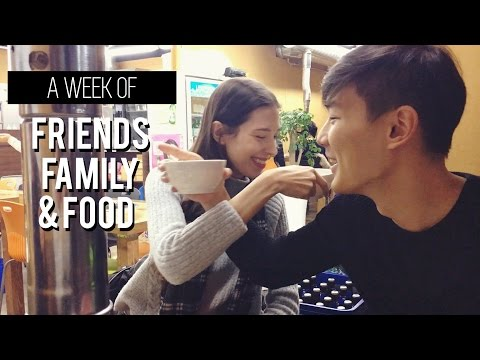 VLOG: A Week of Friends, Family & Food | 국제커플의 한 주 브이로그: 부모님과 저녁식사 (자막 CC)