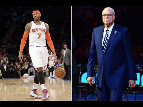 Will Carmelo Anthony and Phil Jackson mesh for the New York Knicks?