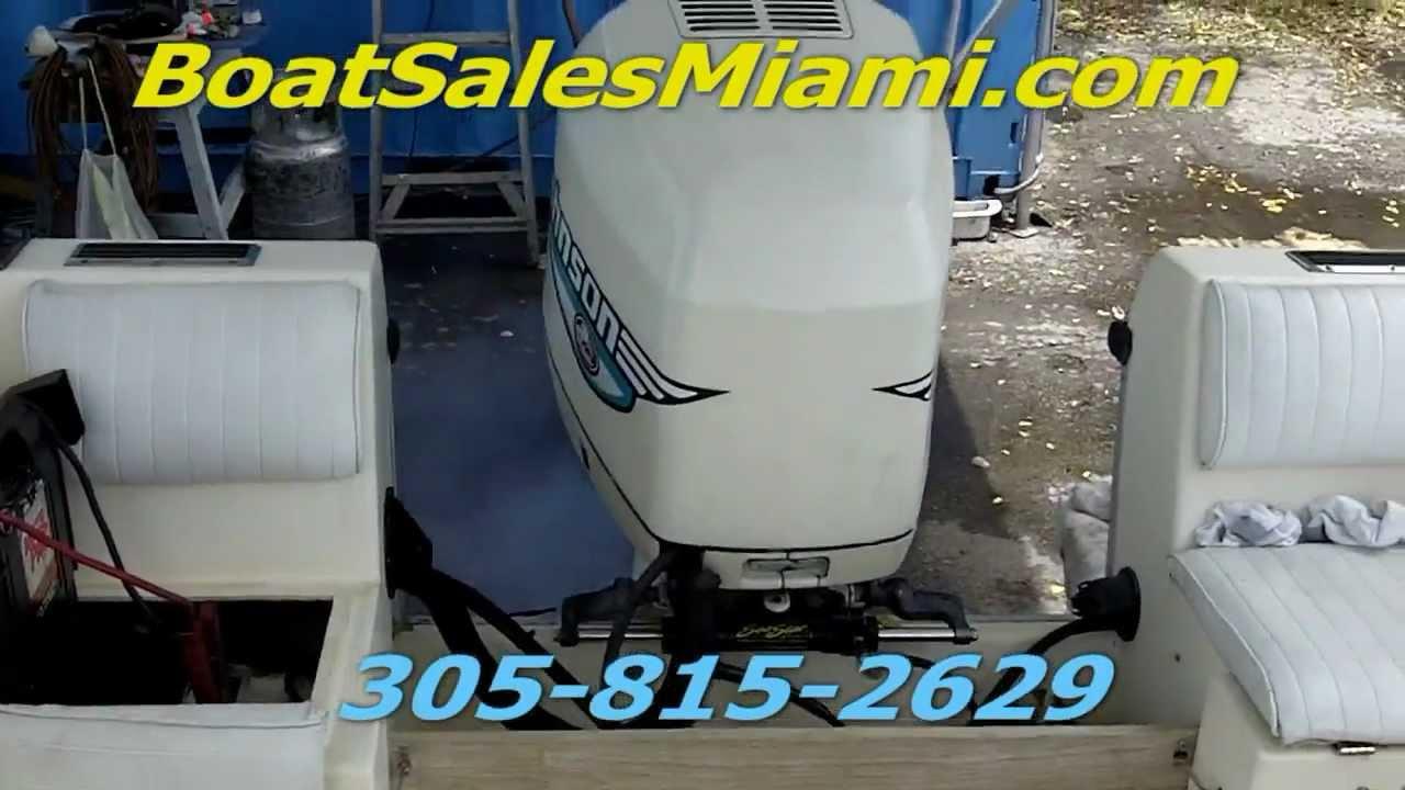 boat sales miami 1990 hydra sport 20 39 with 225 hp