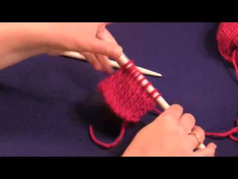 Knitting Stitches Reverse Stockinette : Stockinette (Stocking) Stitch and Reverse Stockinette (Reverse Stocking) Stit...