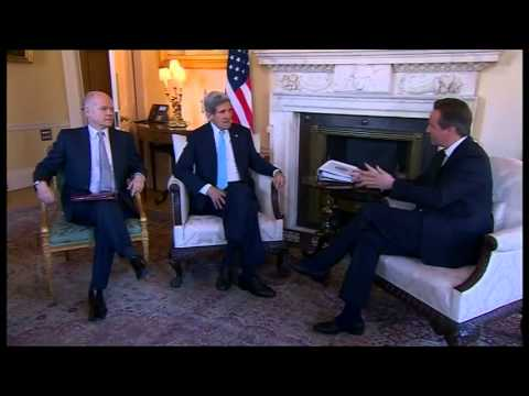 Ukraine crisis Cameron to discuss Ukraine with Kerry