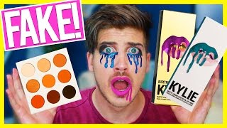 TESTING FAKE KYLIE JENNER PRODUCTS!