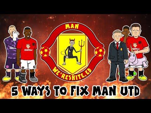 💩5 Ways to Fix Man Utd💩 (Ole's At The Wheel!)