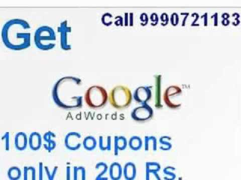 [Image: provide 100$ Google Adword Coupon]