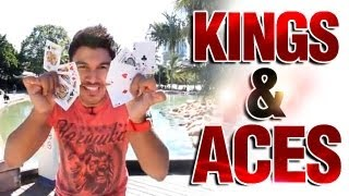 Awesome Card Tricks: Free Card Magic Revealed : Kings And