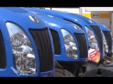 New Holland traktori i kombajni - U nasem ataru 433.wmv