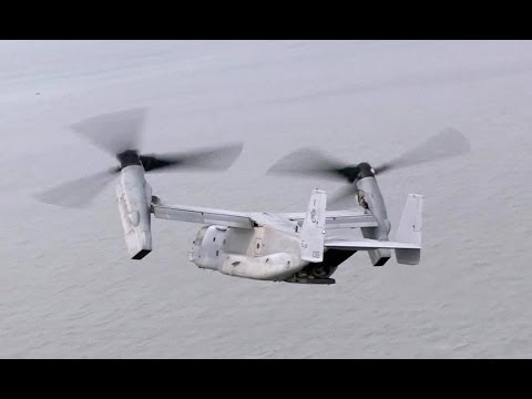CH-53E Super Stallion & V-22 Osprey in Sewol Ferry Search and Rescue