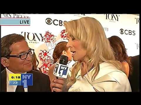 2013 Tony Awards: Red Carpet - Judith Light - YouTube