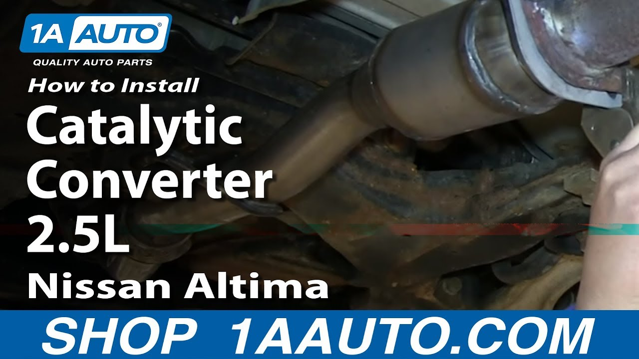 How To Install Replace Front Flex Pipe Catalytic Converter