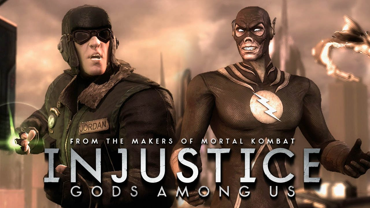 injustice gods among us green lantern red son vs the