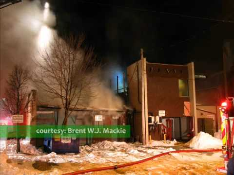 STAG SHOP fire in Kitchener