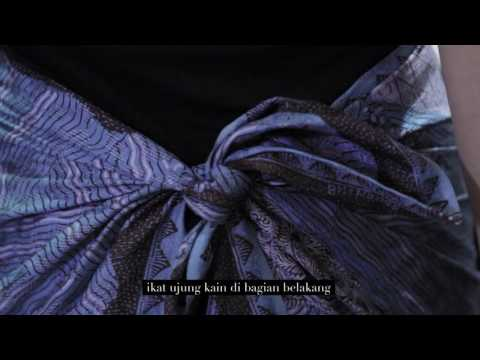 Tutorial Mengenakan Kain Batik