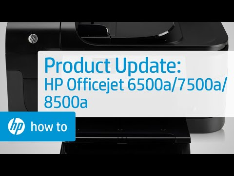 Product Update - HP Officejet 6500a-7500a-8500a(a910a)