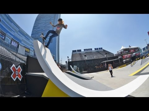Blog Cam #61 - X Games Girls Street Practice Day 1