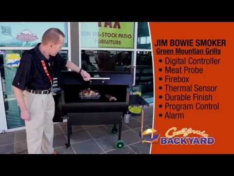 Jim Bowie Smoker Demo