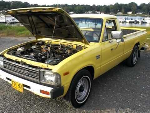 1982 toyota pick up 2 2l diesel 5 spd rust free youtube. Black Bedroom Furniture Sets. Home Design Ideas