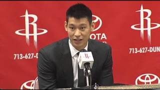 Jeremy Lin Lands in Houston