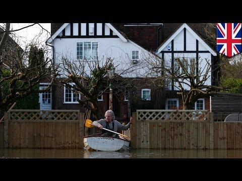 Britain's flood crisis worsens, swollen Thames threatens London