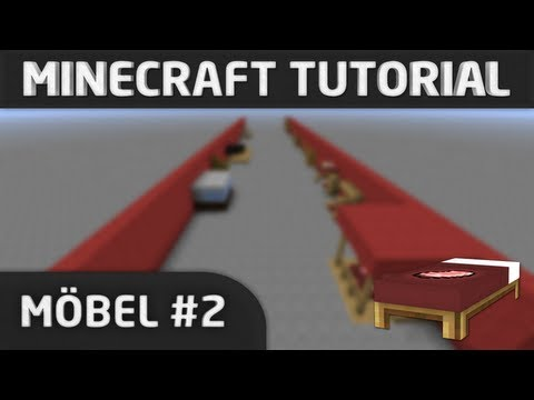 Minecraft Tutorial: Möbel #2