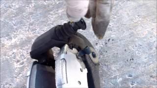 Replace Front Brake Pads 2005 Hyundai Sonata