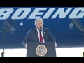 LIVE: Trump Full Speech at Boeing 787 Dreamliner Unveiling | ABC News