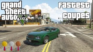 The Fastest Coupes In GTA V