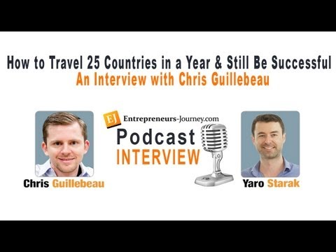 Chris Guillebeau On How He Travels To 25 Countries A Year and Still Run A Business Video