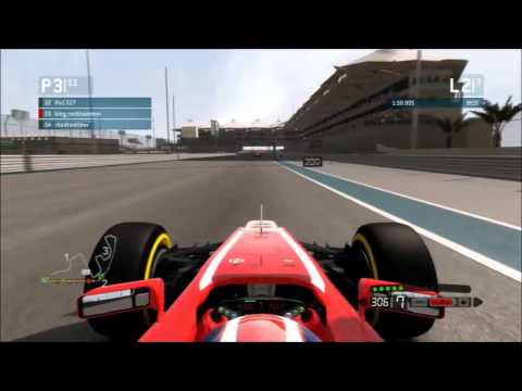 F1 2013 - Action In Abu Dhabi