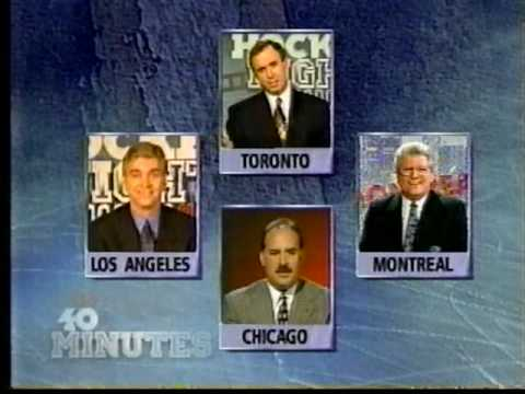 Winnipeg Jets VS Calgary Flames: Last HNIC Broadcast From Winnipeg Arena 04/06/96 - Part 10/15