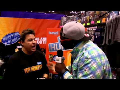 Travel Channel's Toy Hunter & BlackBible  NY Comic Con 2013 @GamerFitnation