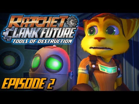 Ratchet and Clank: Future Tools of Destruction - Episode 2 (Walkthrough / Playthrough / Let's Play)