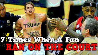 7 Times When NBA Fans Ran ONTO The COURT