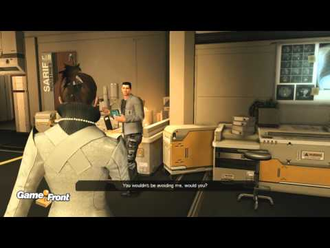Deus Ex Human Revolution Walkthrough - PT. 1 - Prologue - Part 1