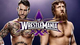 WWE 2K14 CM Punk Vs Daniel Bryan Wrestlemania 30 (Epic
