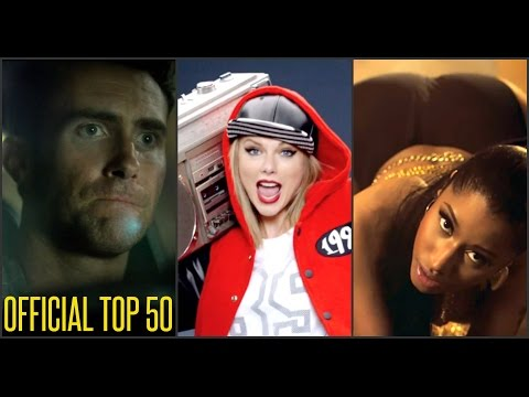 TOP 50 SONG CHART for SEPTEMBER 2014 (Week 1 Chart)