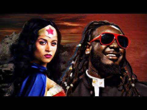 Wonder Woman vs Stevie Wonder.  Epic Rap Battles of History.