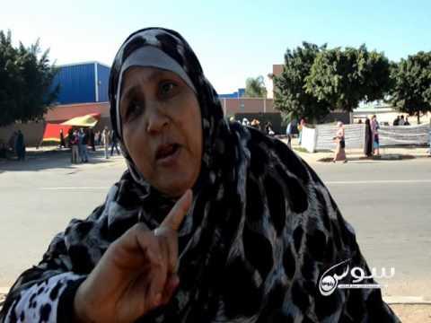 """بالفيديو عاملات أيت ملول يصرخن """" بيشا الصلا والدين..وديتي حقوق المساكين"""""""