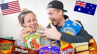 American Tries Australian Snacks (for the first time)!
