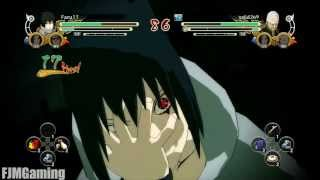 Naruto Ultimate Ninja Storm 3: Combo/Tilt Cancel Tutorial