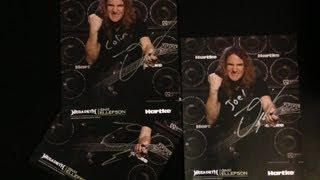 MEGADETH David Ellefson Guitar Center Meet and Greet 9/8/2013