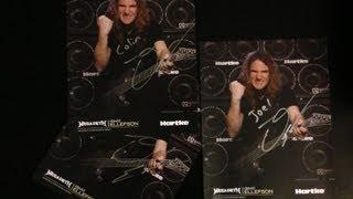 MEGADETH David Ellefson Guitar Center Meet and Greet 9/8/2013