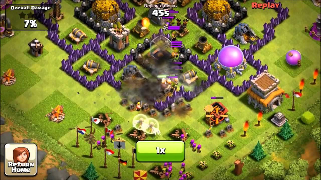 Clash of Clans Th8 Defense