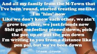 Drake Too Much Ft. Sampha Nothing Was The Same (lyrics